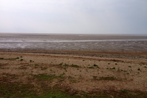 The vast mudflat of the Wash at low tide. © Gyorgy Szimuly